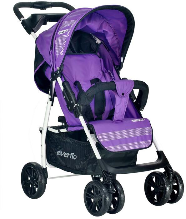 Everflo Коляска прогулочная E-230 Purple - Коляски и аксессуары - Коляски
