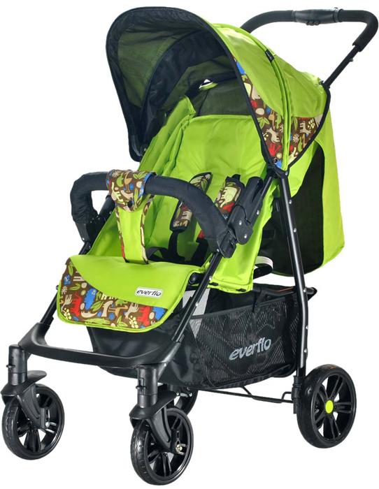 Everflo Коляска прогулочная Е-230 Safari Green Luxe - Коляски и аксессуары
