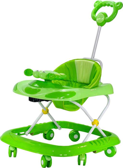 Everflo Ходунки Веселый крабик 618 цвет зеленый