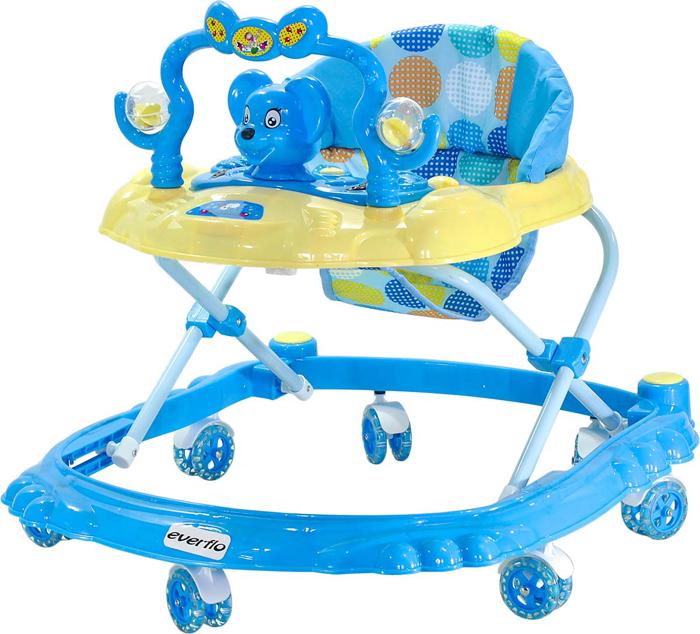 Everflo Ходунки Мышонок W403 цвет синий