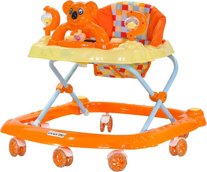 Everflo Ходунки Коала W405 цвет оранжевый