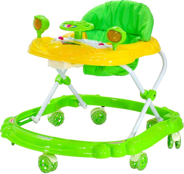 Everflo Ходунки Машинка WT410 цвет зеленый