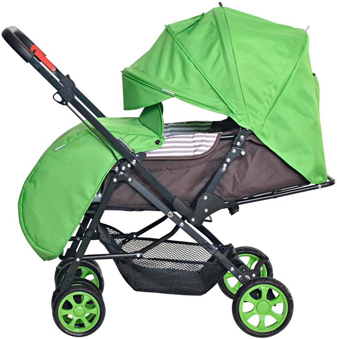 Everflo Коляска прогулочная Е-200 Range Green прогулочная коляска bertoni apollo накидка на ножки зелено серый green
