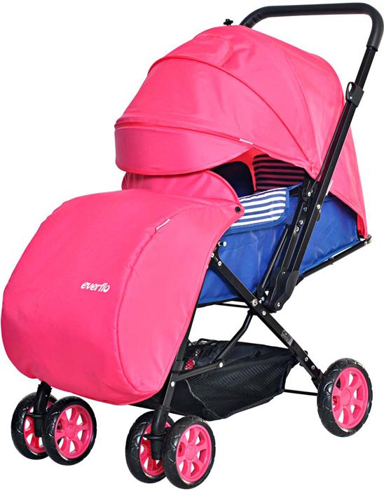 Everflo Коляска прогулочная Е-200 Range Pink casdon корзина для покупок