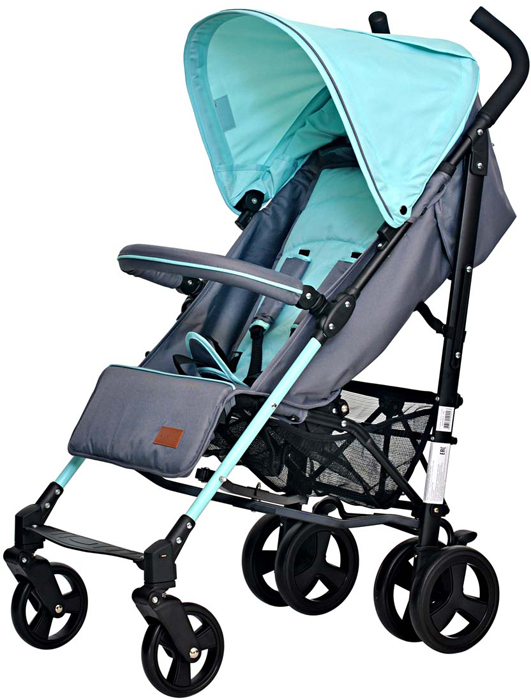 Фото - Everflo Коляска трость Е-1268 Celebrity Turquoise коляска прогулочная everflo safari grey e 230 luxe