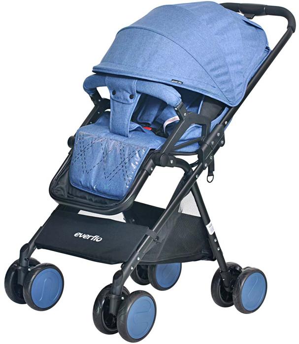 Everflo Коляска прогулочная Е-550 Сruise Deep Blue everflo коляска прогулочная е 550 сruise purple
