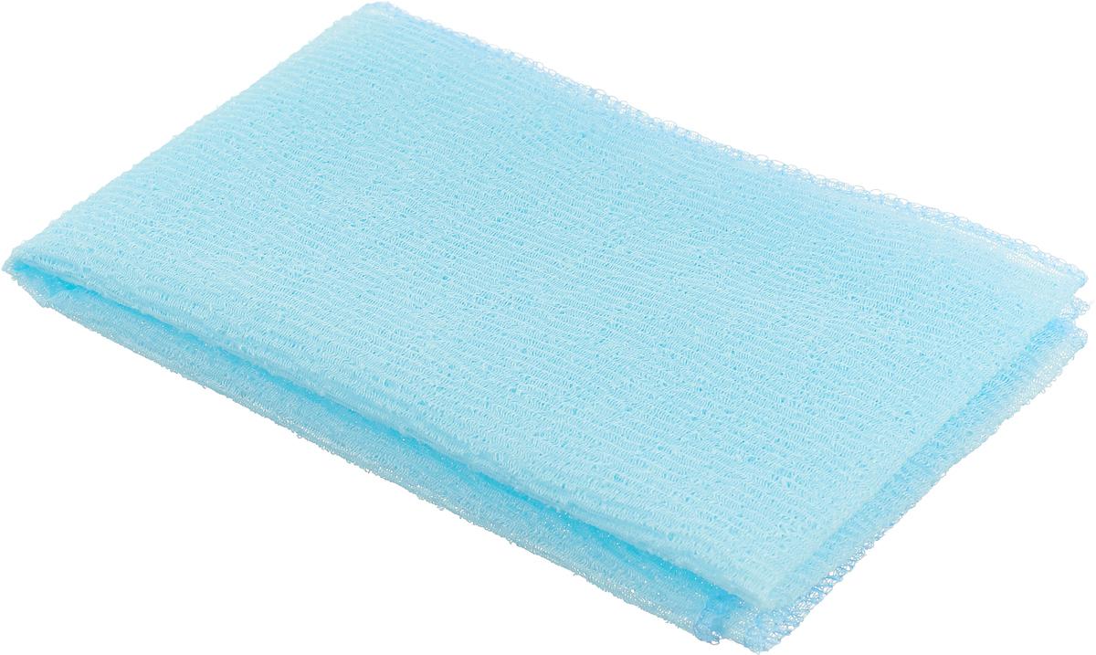 Мочалка-полотенце массажная Eva, цвет: голубой, 90 см х 30 смМ341 голубойМочалка-полотенце массажная Eva, изготовленная из скраб-нейлона (многоволокнистой нейлоновой нити с объемным плетением), обладает высоким массажным эффектом. Мочалка с самым высоким уровнем жесткости обладает эффектом скраба, кожа становится чистой, упругой и свежей. Идеальна для профилактики и борьбы с целлюлитом.