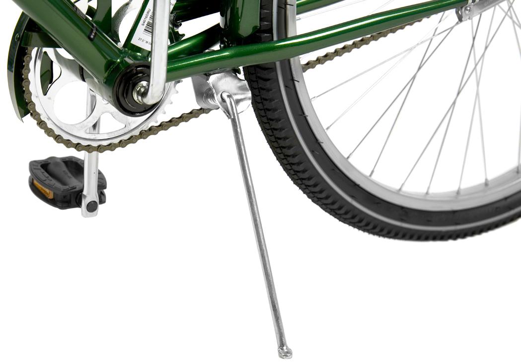 """Классический велосипед Schwinn """"Gammon"""" создан для наслаждения неспешными прогулками по городу и паркам. Прочная стальная рама, дизайн которой пришел из 80-х, и глубокий цвет элегантно завершают облик велосипеда. Комфортное седло и широкий легкоуправляемый руль доставляет массу положительных эмоций при использовании велосипеда. Прогрессивный для этого класса велосипедов размер колес, 27,5 дюймов, дарит вам непревзойдённый накат и управляемость на дороге. Полноразмерные крылья защищают от брызг воды и песка из-под колес. Полноценная защита цепи предохраняет от попадания низа одежды в цепь и звезды.  - Прочная стальная рама размером 18"""". - Широкий и удобный руль.  - Полноразмерные крылья.  - Полноразмерная защита цепи. - Седло и руль регулируются по высоте и наклону. - Подножка в комплекте. - Колеса 27,5"""".      Какой велосипед выбрать? Статья OZON Гид"""