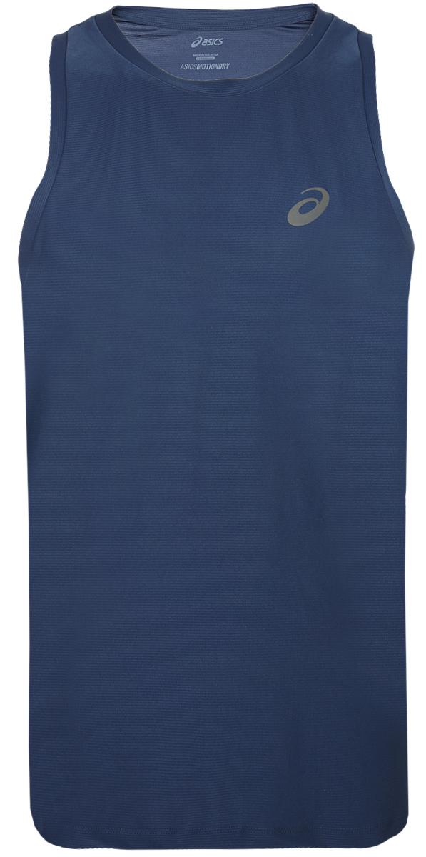 Майка мужская Asics Singlet, цвет: темно-синий. 134082-0793. Размер XXL (52) asics asics solid modified singlet