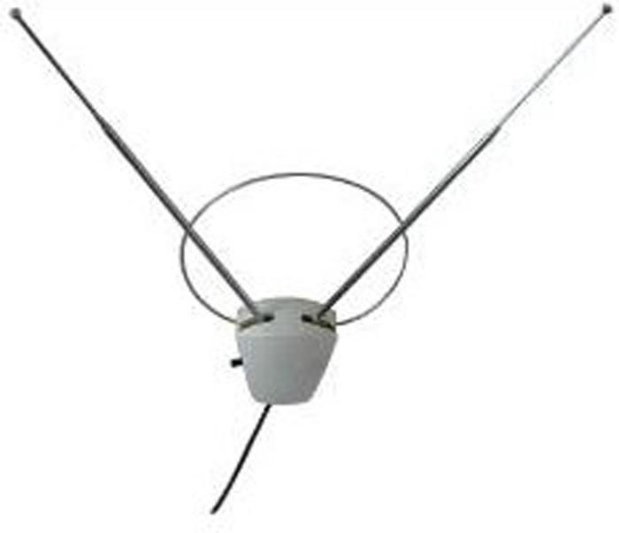 РЭМО BAS-5304-DX Viva, White комнатная ТВ-антенна (активная) телевизионная антенна рэмо viva