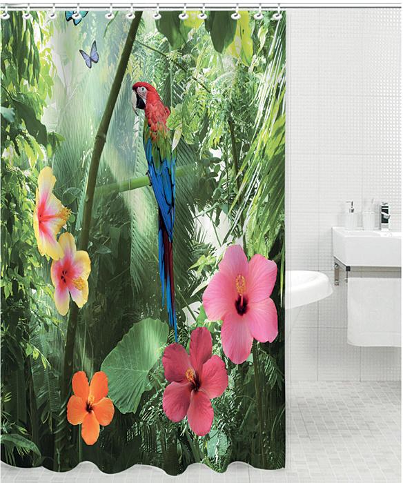 Штора для ванной комнаты Rosenberg RPE-730021 — незаменимый аксессуар практического и эстетического назначения. Изделие поможет не только укрыться от посторонних взглядов во время принятия душа или ванны, но и убережет пол от попадания водяных брызг.   Быстро сохнет и легко очищается от загрязнений.   Элегантное оформление дополнит интерьер ванной комнаты, добавит уюта.   В комплекте 12 крючков для удобства крепления.   Штора выполнена из полиэстеровой ткани: материал отличается долговечностью и простотой в уходе.