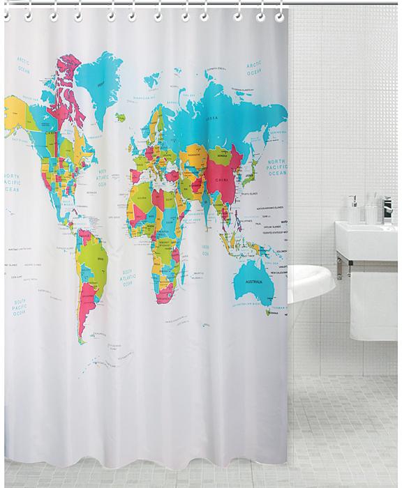 Штора для ванной комнаты Rosenberg RPE-730023 — незаменимый аксессуар практического и эстетического назначения. Изделие поможет не только укрыться от посторонних взглядов во время принятия душа или ванны, но и убережет пол от попадания водяных брызг.   Быстро сохнет и легко очищается от загрязнений.   Элегантное оформление дополнит интерьер ванной комнаты, добавит уюта.   В комплекте 12 крючков для удобства крепления.   Штора выполнена из полиэстеровой ткани: материал отличается долговечностью и простотой в уходе.