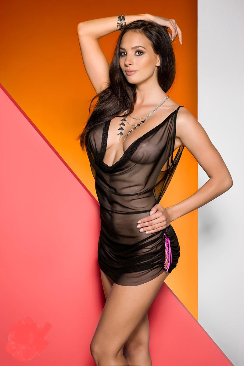 Эротическое белье женское Avanua Vasper, цвет: черный. 03585. Размер S/M (42/44) эротическое белье женское avanua rayen цвет красный 03583 размер s m 42 44