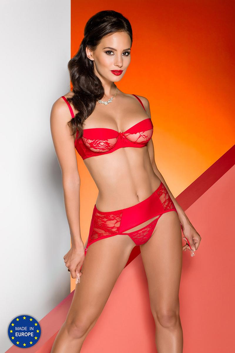 Эротическое белье женское Avanua Rayen, цвет: красный. 03583. Размер S/M (42/44) эротическое белье женское avanua rayen цвет красный 03583 размер s m 42 44