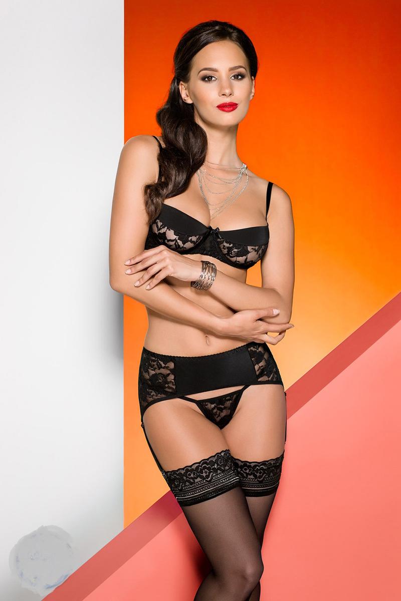 Эротическое белье женское Avanua Rayen, цвет: черный. 03582. Размер S/M (42/44) эротическое белье женское avanua rayen цвет красный 03583 размер s m 42 44