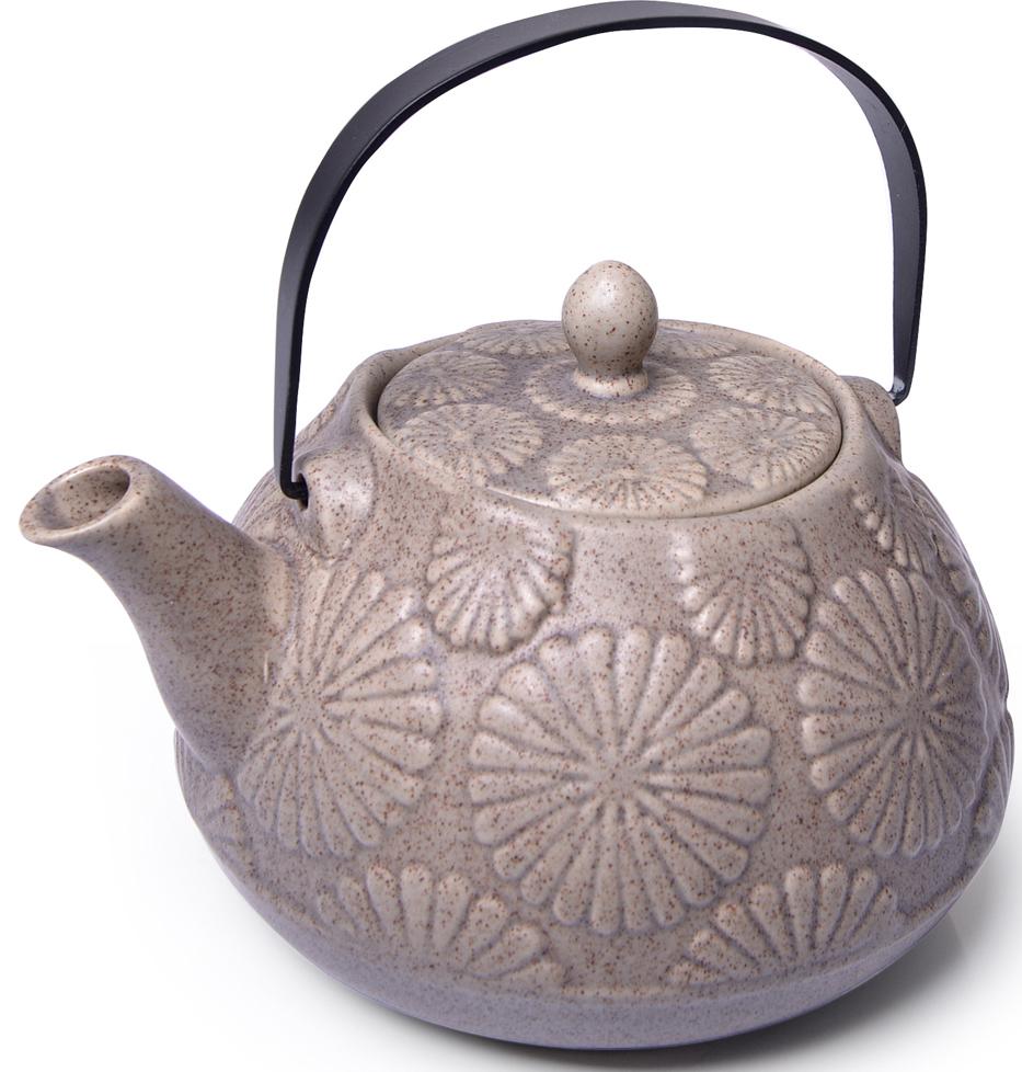 Чайник заварочный Fissman, с ситечком, 1100 мл. 9393