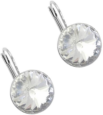 Серьги женские Ice&High, цвет: серебряный, белый. ZS888580