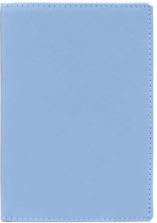 Обложка для паспорта женская Janes Story, цвет: голубой. H-02-PM01-82Натуральная кожаОбложка для паспорта из натуральной мягкой кожи сохранит важный документ и подчеркнет ваш изысканный вкус, коллекция представлена в нежных пастельных тонах и одного яркого тона коралл. Упакована в красивую картонную коробочку, прекрасный подарочный вариант.