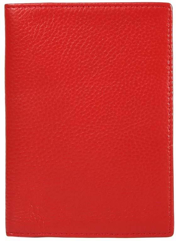 Обложка для паспорта женская Janes Story, цвет: красный. XH-PPH-12Натуральная кожаОбложка для паспорта из натуральной зернистой кожи сохранит важный документ и подчеркнет ваш изысканный вкус. Упакована в красивую картонную коробочку, прекрасный подарочный вариант.