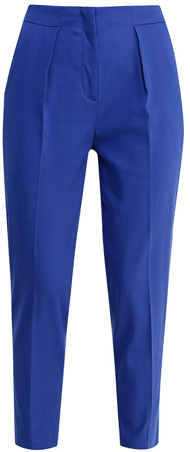 Брюки женские United Colors of Benetton, цвет: синий. 4CDR555T4_252. Размер 38 (40) юбка united colors of benetton цвет бежевый 4aor50515 3d1 размер 38 40