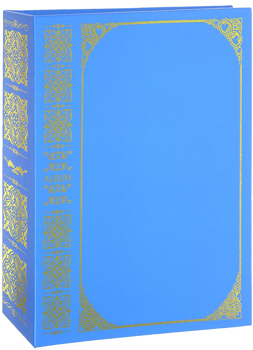 Фотоальбом Pioneer Royal Vinyl, 100 фотографий, цвет: синий, 15 х 21 см фотоальбом 6171