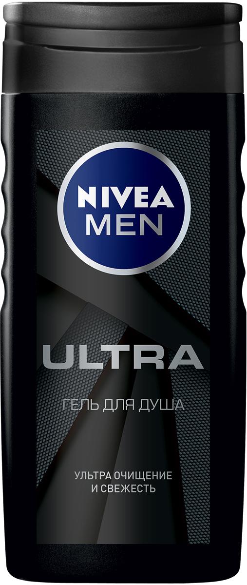 Nivea Гель для душа Ultra, 250 мл гель для душа nivea nivea ni026lwviu59