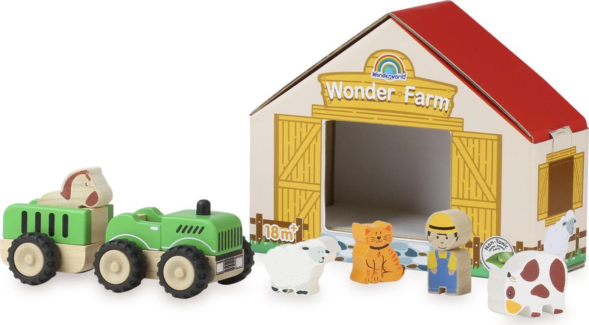 Wonderworld Игровой набор Чудо-Ферма