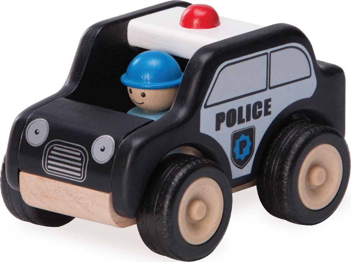 Wonderworld Машинка Полицейский патруль Miniworld деревянные игрушки wonderworld пожарная машина miniworld
