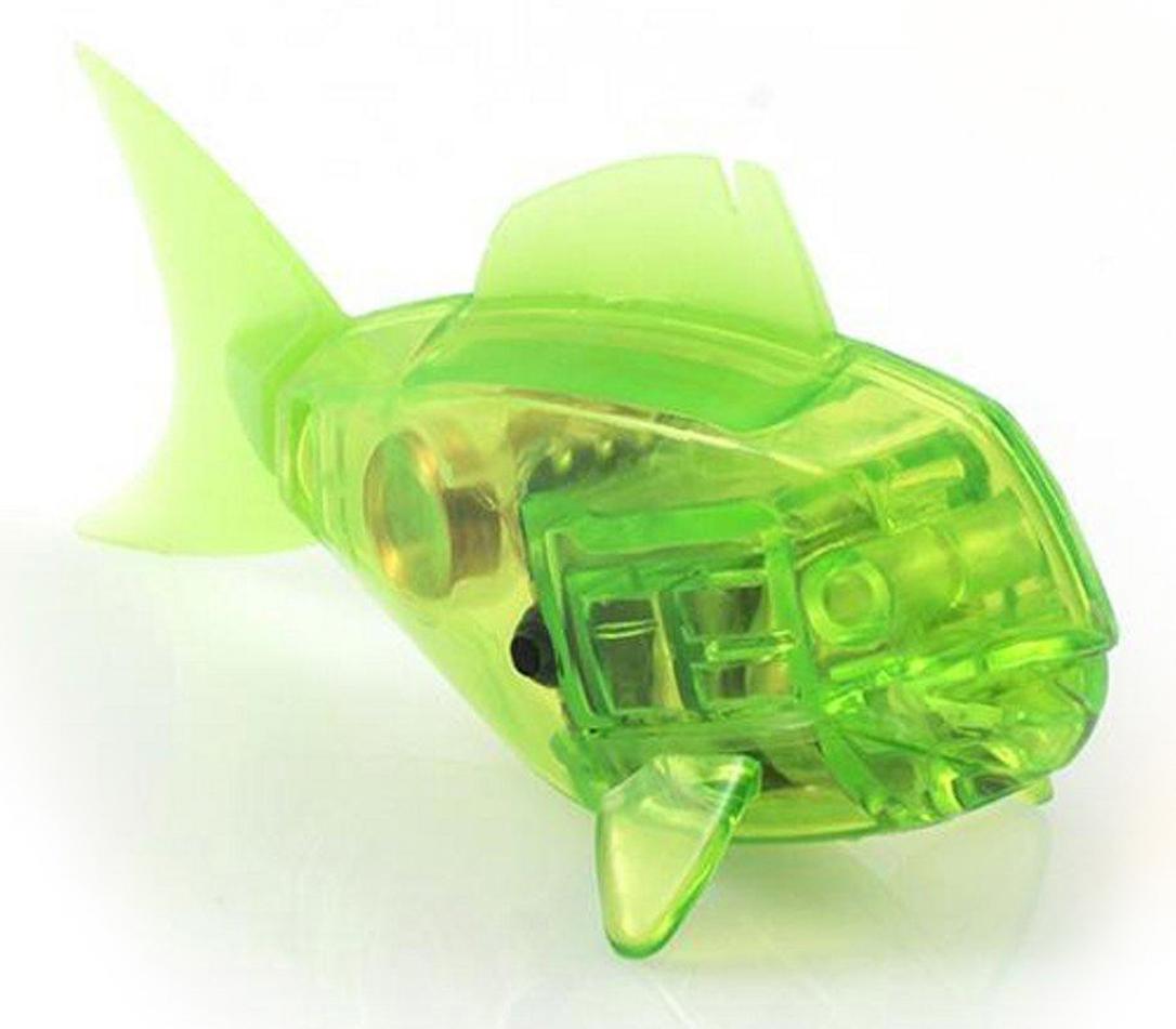 Hexbug Микро-робот Aquabot Shark цвет салатовый