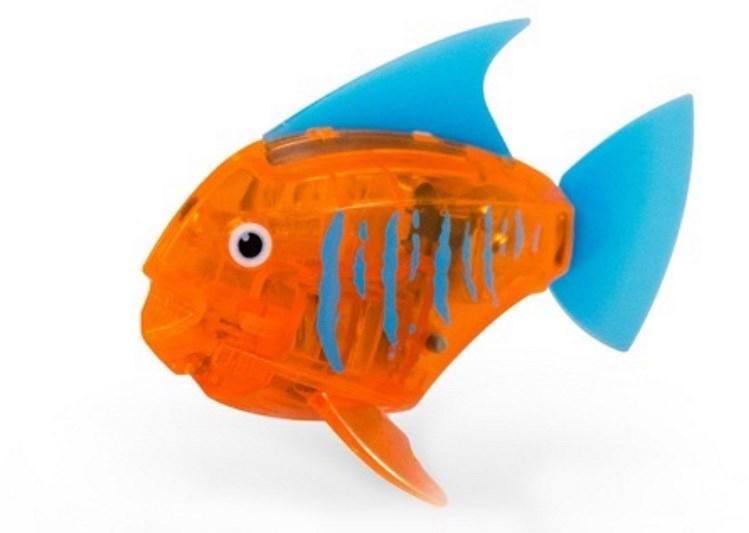 Hexbug Микро-робот Тропическая рыбка цвет оранжевый
