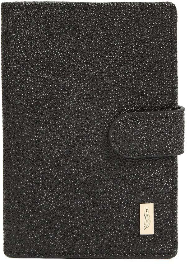 Обложка для паспорта женская Jane's Story, цвет: черный. K-X-P193-04 пальто alix story alix story mp002xw13vur