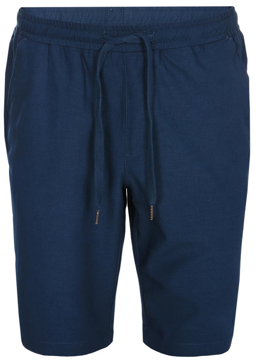 Шорты мужские Sela, цвет: темно-синий. SH-215/557-8214. Размер 50