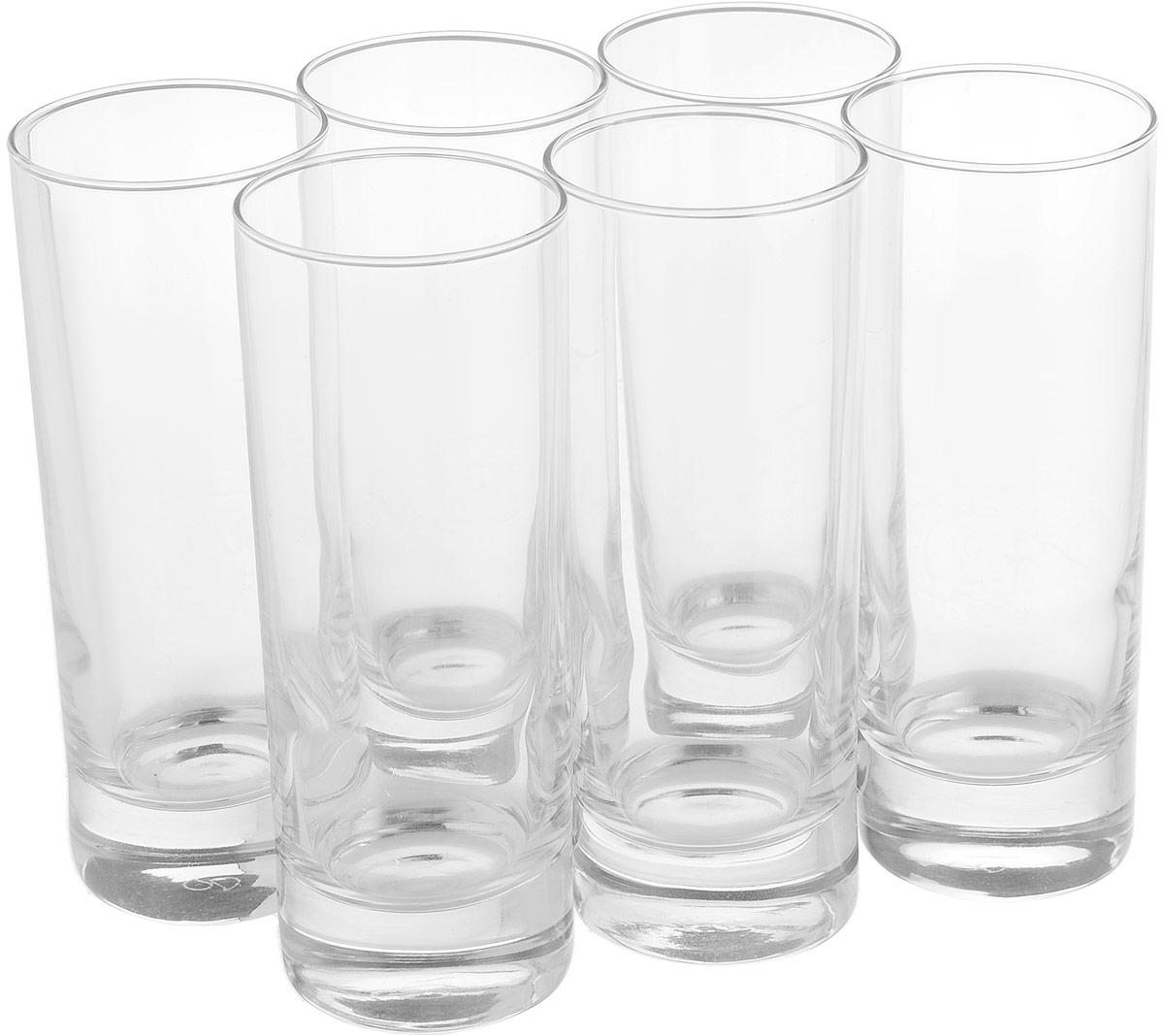 Набор стаканов Pasabahce Сиде, 215 мл, 6 шт набор стаканов pasabahce касабланка 280 мл 6 шт