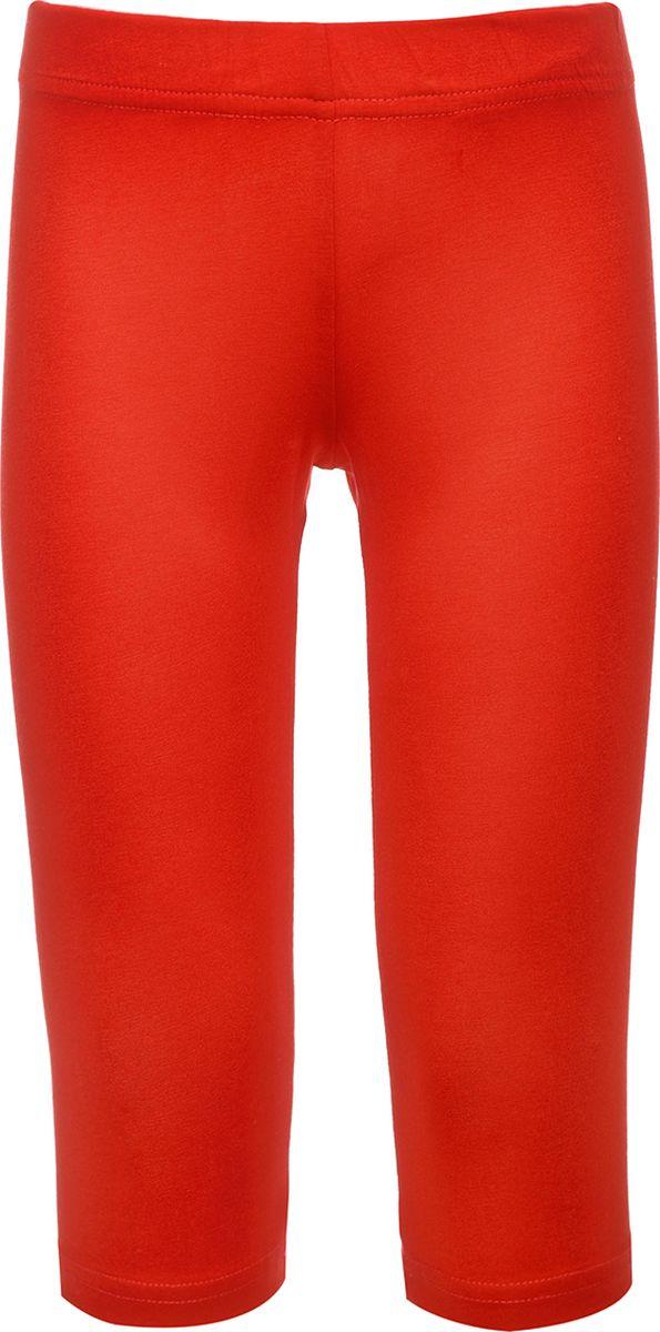 Бриджи для девочки M&D, цвет: красный. SJS27041M07_7. Размер 98
