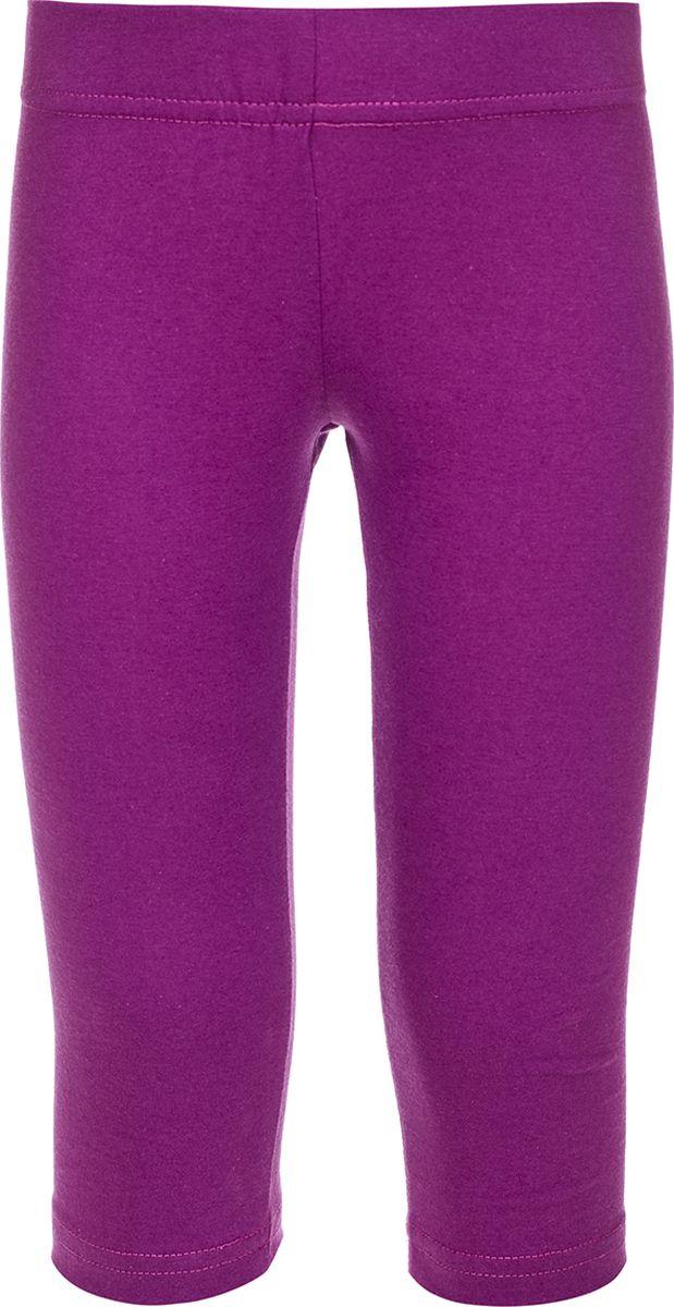 Бриджи для девочки M&D, цвет: фиолетовый. SJS27021M12_12. Размер 98