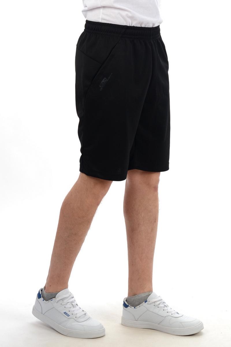 Шорты мужские Stayer, цвет: черный. 30814/10. Размер 46-17630814/10Удлиненные функциональные шорты. Модель предназначена для занятий спортом и активного отдыха. Приятный на ощупь быстросохнущий материал, прямой крой, пояс на резинке со шнурком, 2 внешних кармана.