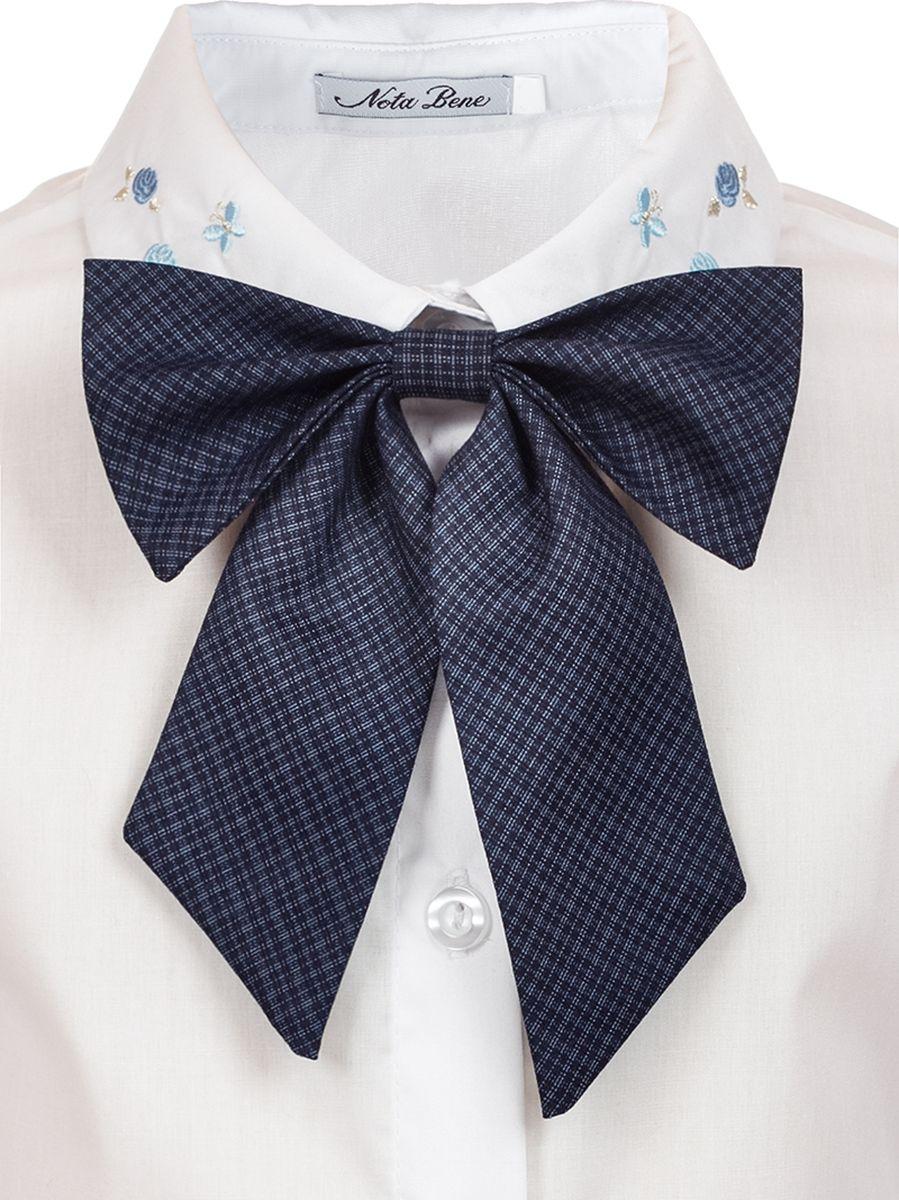 Галстук для девочки Nota Bene, цвет: серый. 18129010120_20. Размер универсальный