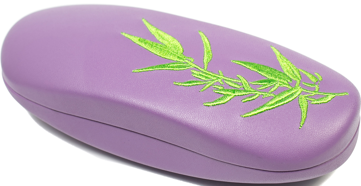 Футляр для очков женский Mitya Veselkov, цвет: фиолетовый, зеленый. A-205.3col.8 - Корригирующие очки