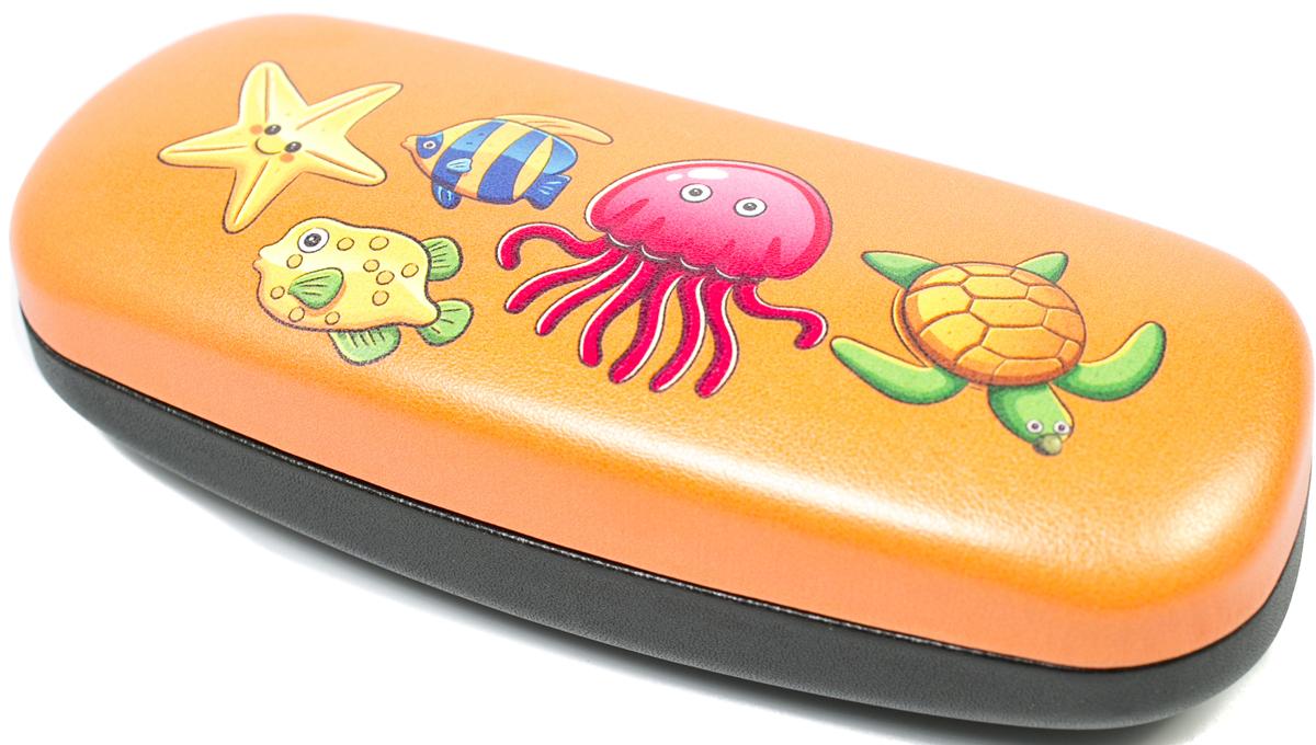Футляр для очков для мальчика Mitya Veselkov, цвет: оранжевый. A-243.2col.12 - Корригирующие очки