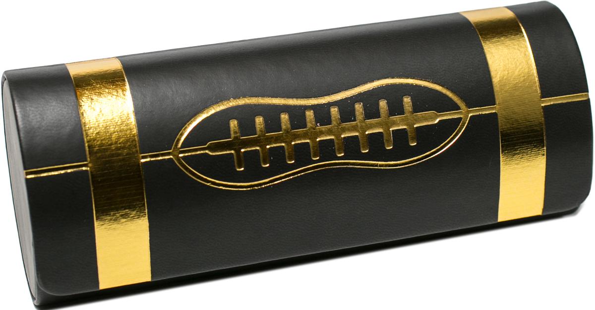 Футляр для очков женский Mitya Veselkov, цвет: черный, золотистый. AF-166col.5 футляр для очков женский mitya veselkov цвет черный b229c5