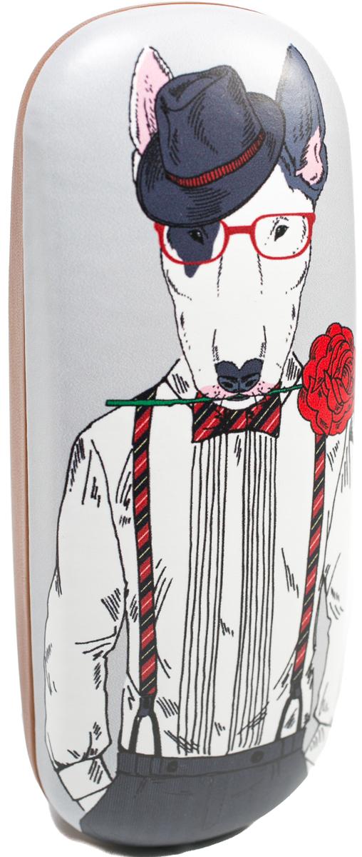 Футляр для очков мужской Mitya Veselkov, цвет: белый, серый, красный. DS-31.1col.6DS-31.1col.6Футляр для очков Mitya Veselkov - стильное решение проблемы пыльных очков. Храните дома ваши очки в футляре, а также футляр послужит незаменимым и оригинальным аксессуаром в путешествиях и ежедневных перемещениях по городу.