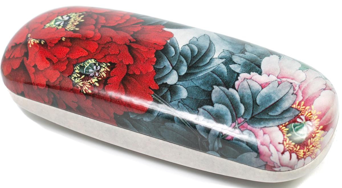 Футляр для очков женский Mitya Veselkov, цвет: красный, серый. DS-31.2col.1 - Корригирующие очки
