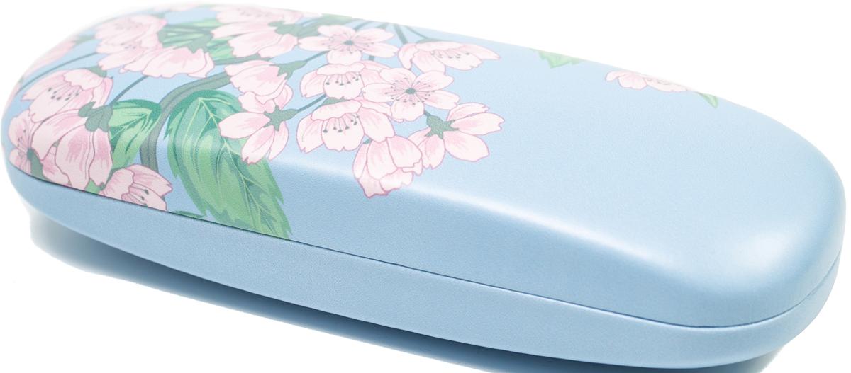 Футляр для очков женский Mitya Veselkov, цвет: розовый, голубой. DS-31.4col.4 proffi home футляр для очков fabia monti овальный цвет голубой