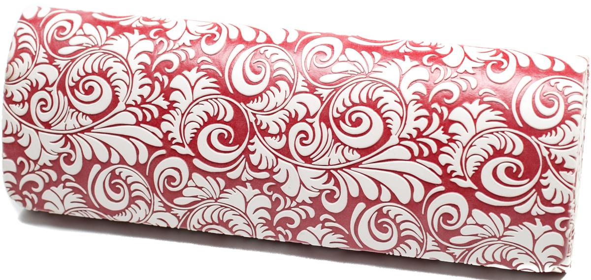 Футляр для очков женский Mitya Veselkov, цвет: белый, красный. GM-10207-CDс4 футляр для картриджей 2 стилуса для приставки ds lite красно белый