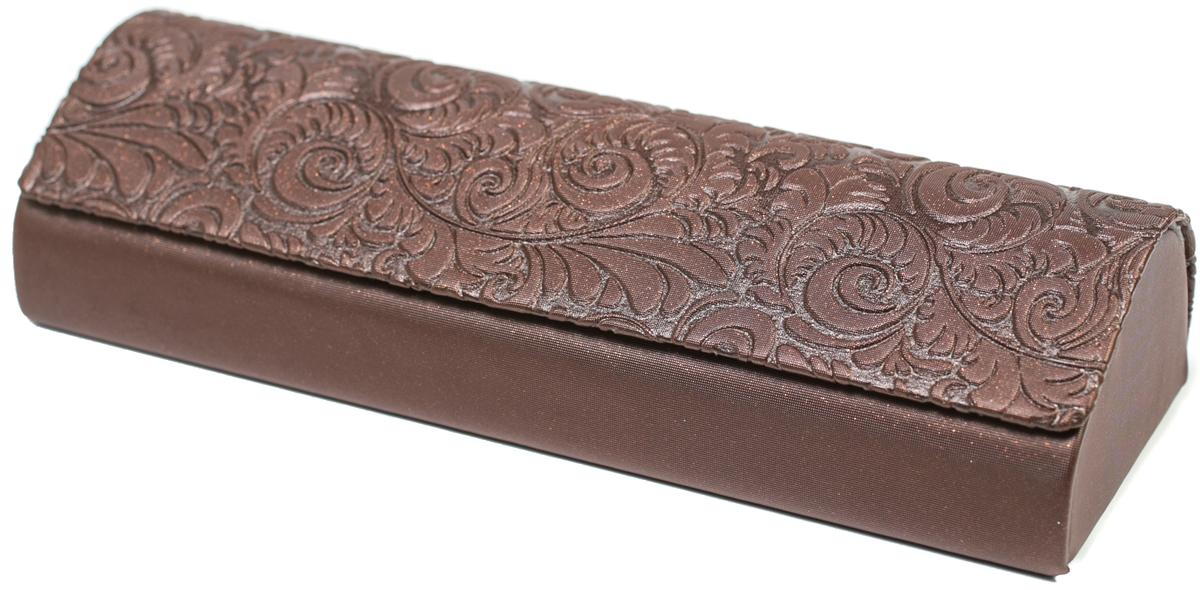Футляр для очков женский Mitya Veselkov, цвет: коричневый. GM-10807-1AAс3 футляр для очков мужской mitya veselkov цвет красно коричневый gm 542 kac4