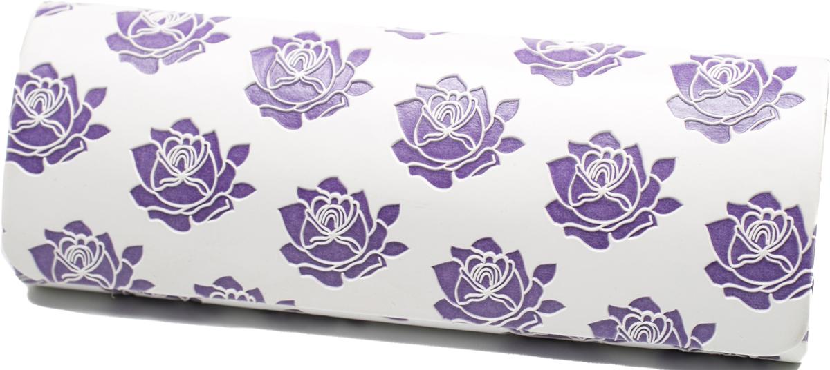 Футляр для очков женский Mitya Veselkov, цвет: белый, фиолетовый. GM-AL-10207-A12с3 футляр для картриджей 2 стилуса для приставки ds lite красно белый
