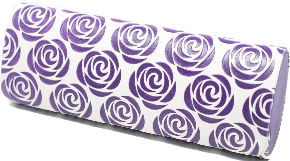 Футляр для очков женский Mitya Veselkov, цвет: белый, фиолетовый. GM-AL-10207-A7с3