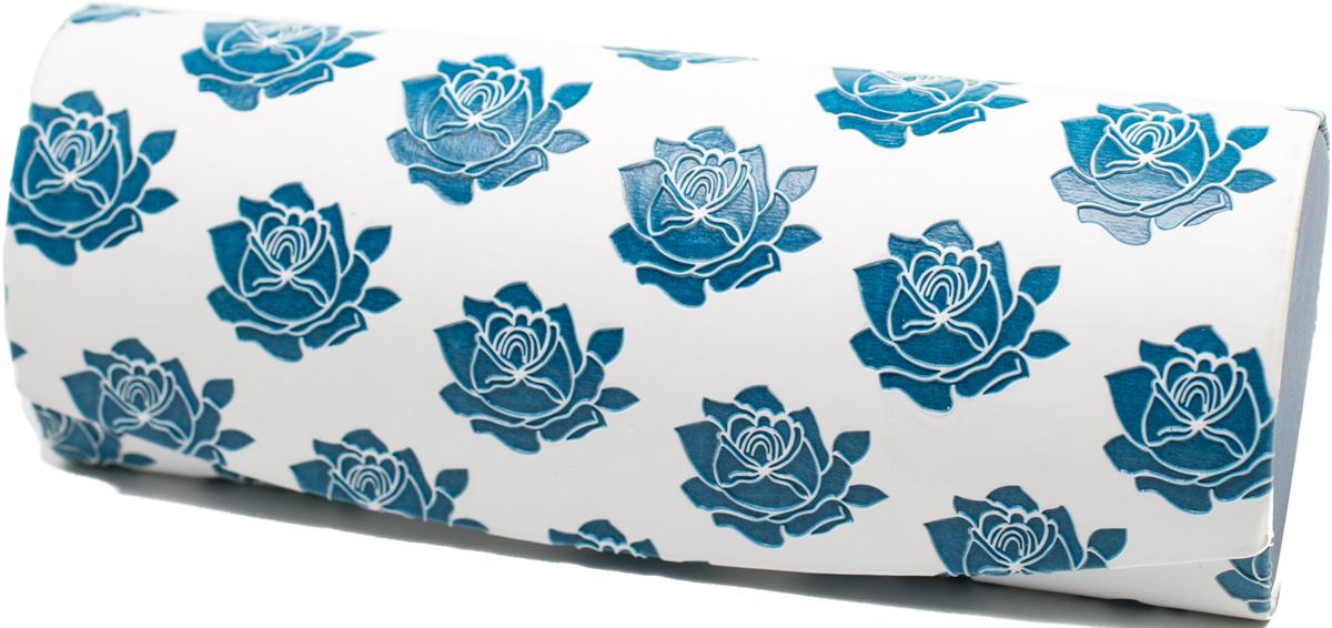 Футляр для очков женский Mitya Veselkov, цвет: белый, синий. GM-AL-10865-A12с2 1807 2 9 34