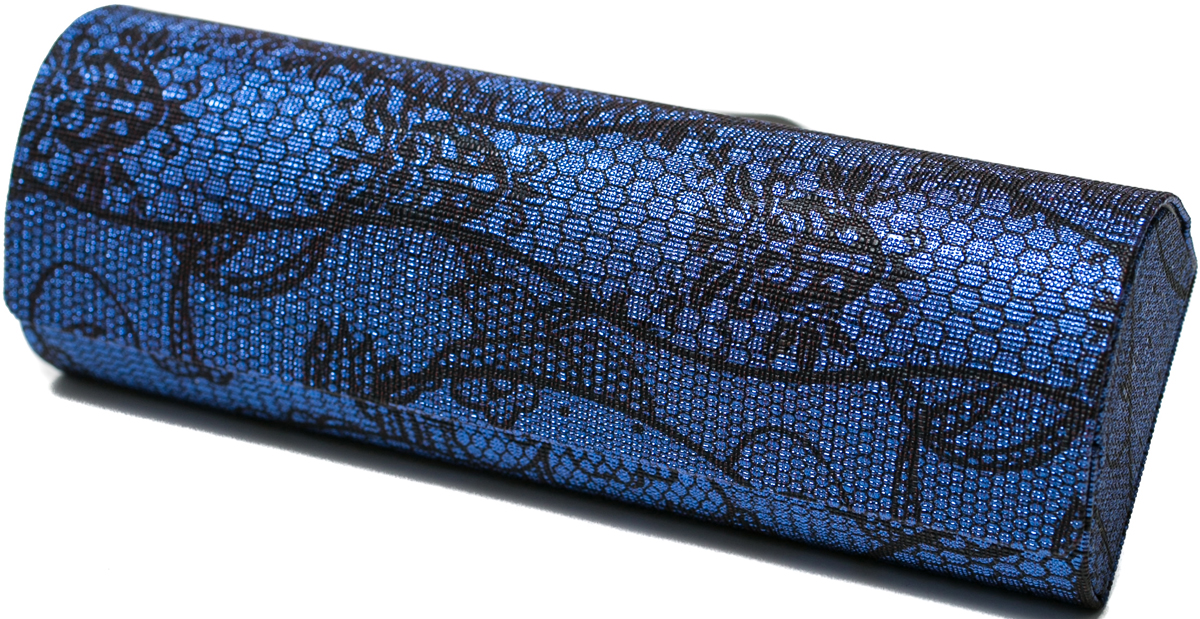 Футляр для очков женский Mitya Veselkov, цвет: синий. GM-AL-10884-A6с1 футляр для очков бюро находок синий кит цвет синий