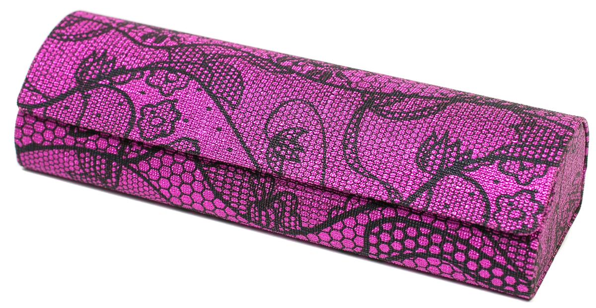 Футляр для очков женский Mitya Veselkov, цвет: фиолетовый. GM-AL-10884-A6с5